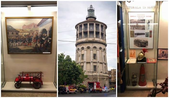 Muzeul National al Pompierilor exponate foisorul de Foc
