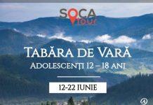 Tabără de Vară pentru Adolescenți 12 – 18 ani Bucovina logo Soca gokid