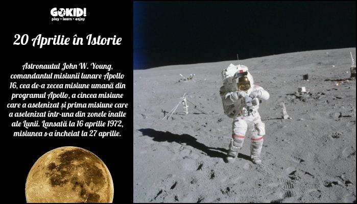 apollo 16 luna 20 aprilie in istorie gokid