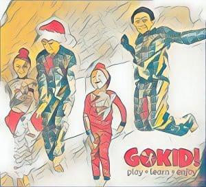Petrecerea Pijamalelor. Poveste de Claudia Groza Lazar gokid ilustration