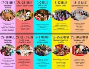Afis Program Clubul Copiilor Isteti 2019