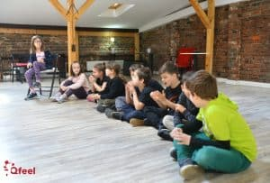 Curs de Dezvoltare Personala prin Teatru Qfeel 8-10 ani 2