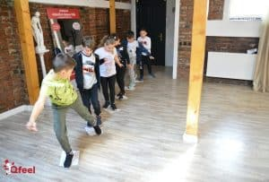 Curs de Dezvoltare Personala prin Teatru Qfeel 8-10 ani
