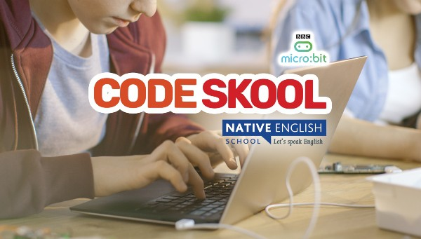 Scoala de Vara cu profesor nativ britanic! Native English School code skool