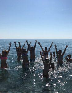 Tabara Internationala de Vara pe Insula Thassos, Grecia copii mare