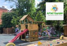 Amai Garden - Gradina cu Loc de Joaca Petreceri in Inima Bucurestiului playground outdoor gokid