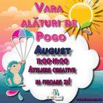 Ateliere si Activitati Creative in Luna August in Toate Locatiile Gymboland